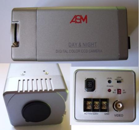 Beltéri box kamera Q602 objektív nélkül 220V-os KIÁRUSÍTÁS !!! KÉSZLETHIÁNY !!!!!!