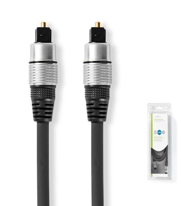 Professzionális optikai kábel, 2,5m Toslink - Toslink (HQAS4623-2.5) KÉSZLETHIÁNY !!!!!!!