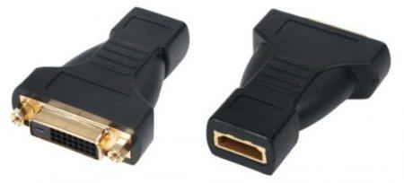 HDMI aljzat DVI-D aljzat adapter aranyozott