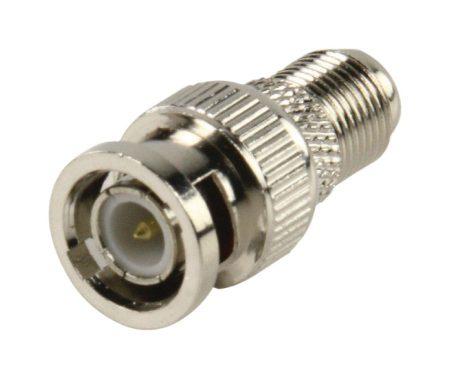 BNC dugó - F aljzat átalakító adapter (5412810134526) KAPHATÓ !!!!!!