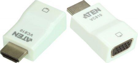 HDMI bemenet - VGA kimenet konverter 720 - 1080P (1920x1080) (VC810-AT) RENDELÉSRE !!!!!