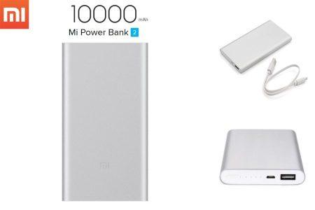 Xiaomi Mi Power Bank 2 10000 mAh - EZÜST AKCIÓS !!!! RENDELÉSRE !!!!! 2-3 munkanap