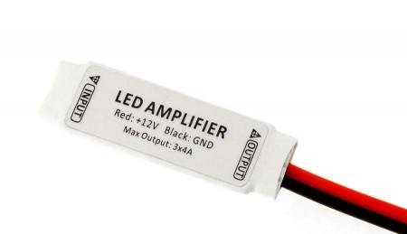 Micro RGB LED jelerősítő 12V KÉSZLETHIÁNY !!!!!