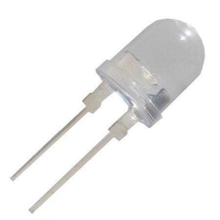 10mm POWER hideg-fehér LED 0,3W 32 lumen !!!!! (62258) KÉSZLETHIÁNY !!!!!!