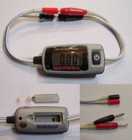 Hordozható digitális áram mérőműszer DC 0 - 20A sönttel KAPHATÓ !!!!!!!