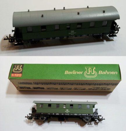 TT vagon régi kocsi zöld vasútmodell eredeti állapot (2) ELADVA !!!!!