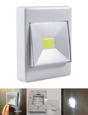Vezeték nélküli Cob Led lámpa természetes-fehér 300 lumen !!!!! AKCIÓS !!!!! RENDELÉSRE !!!!