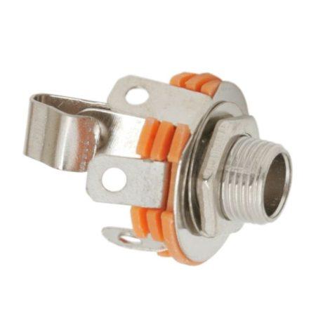 6,3mm jack mono fém beépíthető aljzat (05132 4057B) RENDELÉS ALATT !!!!!!