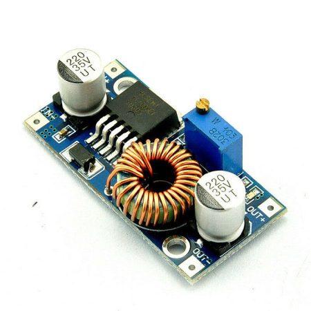 DC – DC lefelé állítható feszültség stabilizátor 5A max (hut_XL4005) KAPHATÓ !!!!!!