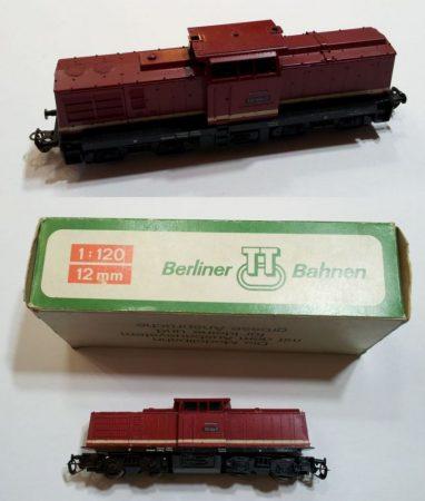 TT disel mozdony vasútmodell eredeti dobozában (110) ELADVA !!!!!!!