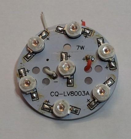 LED panel 7W meleg-fehér 560 lumen AKCIÓS !!!!!!