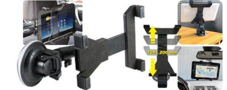 """Univerzális 3in1 autós és otthoni készüléktartó 7-10"""" tablet tartó (SA 052) KAPHATÓ !!!!!!"""
