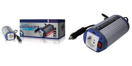 INVERTER 12 V - 230 V 150W + USB (PIMS15012) RENDELÉSRE !!!! 1-2 munkanap