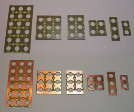 Power LED-emmiterhez 9-db-os LED tartó panel KAPHATÓ !!!!!!!