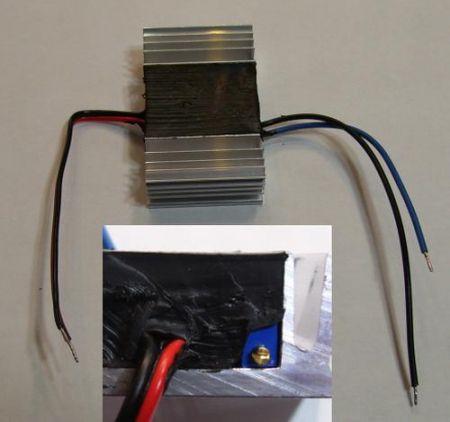 Áramkorlát állítható 550-900mA LEDfénypanelek, POWER LED-ekhez AKCIÓS !!! KAPHATÓ !!!!!