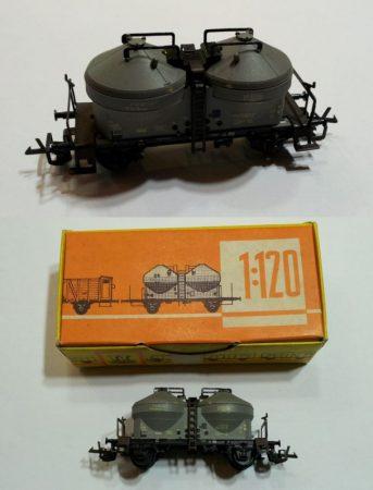TT tartály kocsi vasútmodell eredeti állapot (2) ELADVA !!!!!