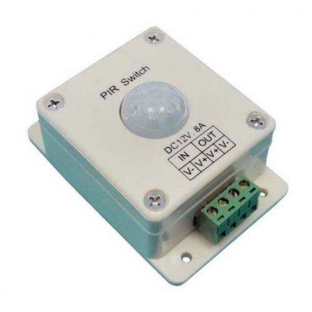 Mozgás érzékelő kapcsoló LED-szalagokhoz, led lámpákhoz, 12-24V között Max:8A RENDELÉSRE !!!!!!!