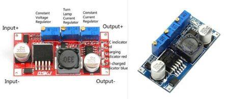 DC – DC lefelé állítható áram és feszültség stabilizátor 0-3000mA -ig (hut_093000) AKCIÓS !!!!! KAPHATÓ !!!!