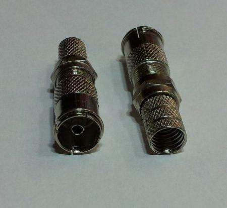 KOAX aljzat fém szerelhető F-véggel 7,5 mm kábelhoz KAPHATÓ !!!!!!