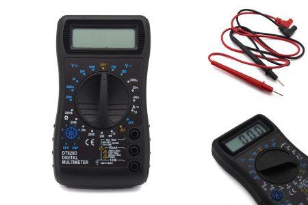 Digitális multiméter (DT-820D) KÉSZLETHIÁNY !!!!!