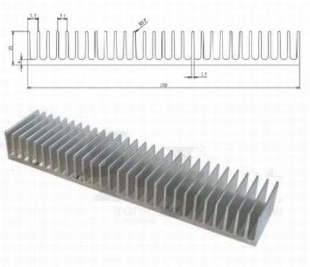 Hütőborda POWER LED-ekhez L=40mm 200x25mm (65682) RENDELÉS ALATT !!!!!