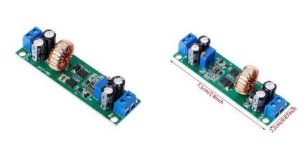 DC – DC lefelé állítható feszültség stabilizátor 10A DC-DC be: 6.5-60V ki: 1.25-18V (hut_096010) AKCIÓS !!!! RENDELÉSRE !!!!