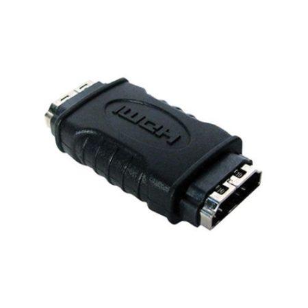 HDMI aljzat - HDMI aljzat adapter aranyozott (VGVP34900B) AKCIÓS !!!!! KAPHATÓ !!!!!!