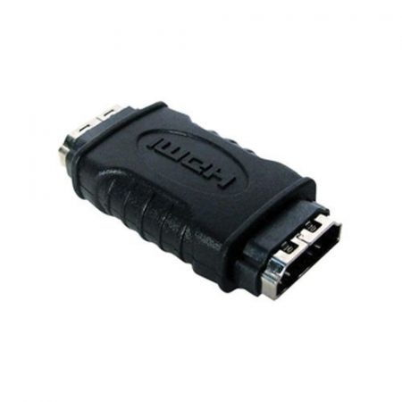 HDMI aljzat - HDMI aljzat adapter aranyozott (CVGP34900BK) AKCIÓS !!!!! KAPHATÓ !!!!!!