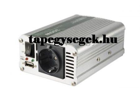 Feszültségátalakító, 500/1000W, USB töltőaljzat (SAI 100USB) RENDELÉSRE !!!!!!! 2-3 munkanap (előre utalással)