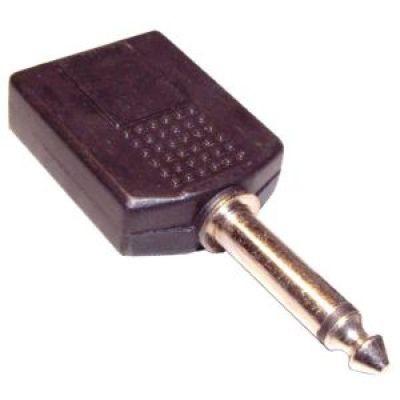 Két 6,3mm-es monó jack aljzatból - egy 6,3mm-es monó jack dugó (4105) KIFOGYOTT !!!!!