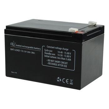 Zselés akkumulátor 12 V 12 Ah (BAT-LEAD-13) RENDELÉSRE !!!!!