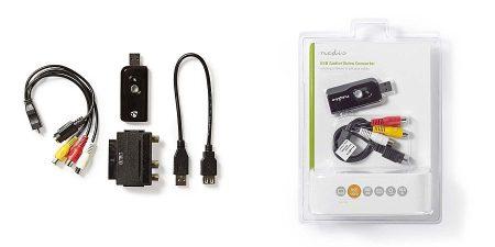 USB 2.0 videorögzítő, digitalizáló, A/V kábel, Scart vagy RCA, Szoftverrel, USB 2.0 (VGRRU100BK) RENDELÉSRE !!!!!! 1-2 munkanap