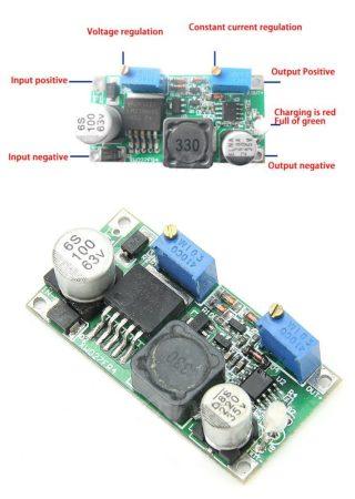 DC – DC lefelé állítható áram és feszültség stabilizátor 60V 3A max (hut_090660) RENDELÉS ALATT !!!!!!
