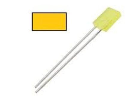 2x5mm Sárga LED színezett KAPHATÓ !!!!!!
