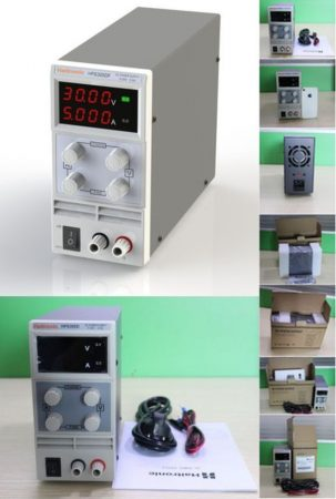 0-60V 0-5A labor tápegység LED kijelző 300W, Haitronic HPS605D KIFOGYOTT !!!!!