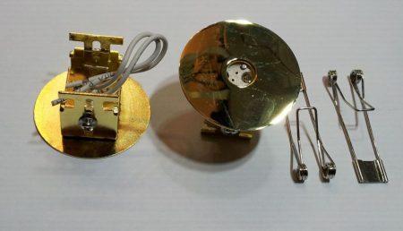 Beépíthető lámpatest, fém, arany, G4 halogénhez vagy LED-hez foglalattal AKCIÓS !!!!!! (DL903) KAPHATÓ !!!!!!!