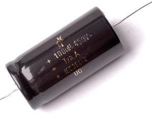 Audio kondenzátor axiális, bipoláris, 2,2uF/100V, magas hangsugárzóhoz, piezo hangsugárzóhoz (4880) KAPHATÓ !!!!!!!