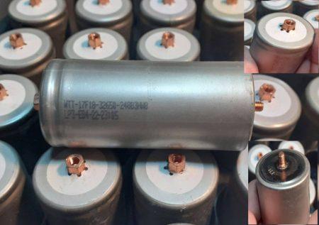 Lifepo4, 32650 ipari akkumulátor cella, 6Ah, 2000 teljes cikklus-tól  AKCIÓS !!!!!! KIFOGYOTT !!!!