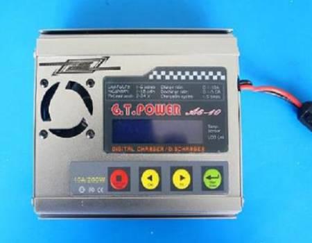 GT. Power A6-10 10A NiCd/NiMH/LiPo/LiFe/Li-ion/Pb balancer toltő/kisütő KÉSZLETHIÁNY !!!!