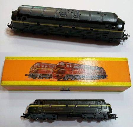 TT disel mozdony vasútmodell eredeti dobozában (2533) AKCIÓS !!!!!! ELADVA !!!!!!