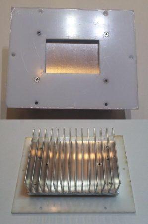 POWER LED lámpatest natur alumínium 1W - 30Wig. AKCIÓS !!!!!! KAPHATÓ !!!!!!