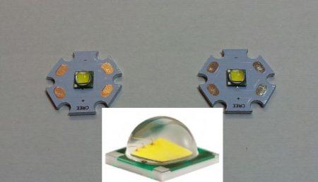 CREE XM-L T6 12W Power Hideg-feher LED 975 lumen !!! KÉSZLETHIÁNY !!!!!!