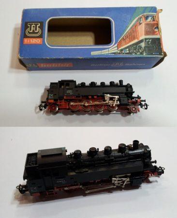TT gőzmozdony vasútmodell eredeti dobozában AKCIÓS !!!!!! ELADVA !!!!!!