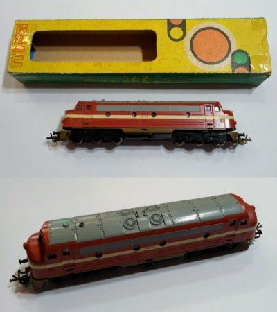 TT disel mozdony vasútmodell eredeti dobozában ELADVA !!!!!!!