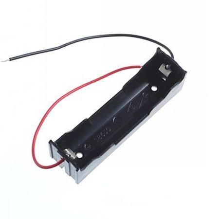 18650 Li-ion akkumulátor tartó 1db akkuhoz, vezetékkel KAPHATÓ !!!!!!!