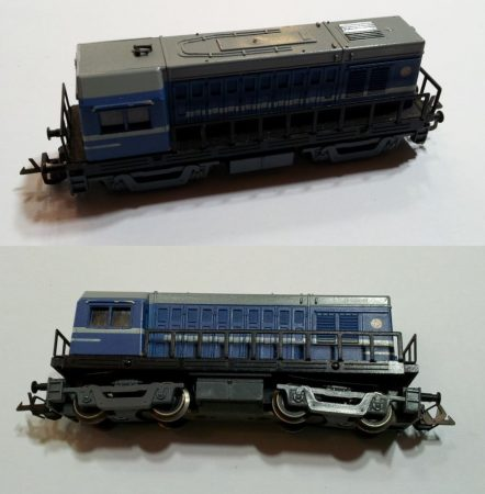TT disel mozdony vasútmodell eredeti állapot (1) AKCIÓS !!!!! ELADVA !!!!!