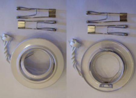 Beépíthető lámpatest síkban billenő , halogénhoz vagy LED-hez MR16-os foglalattal AKCIÓS !!!! (800000033) KAPHATÓ !!!!!