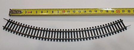 TT vasútmodell sín ív 21,5cm eredeti felújított KAPHATÓ !!!!!
