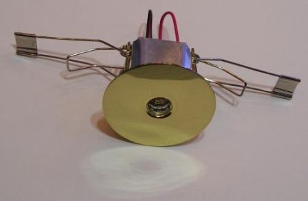 POWER LED-es lámpatest 1W meleg fehér 80 lumen !!!!! (01tip