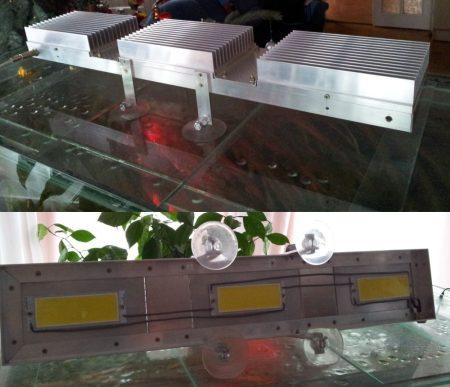 Akváriumi világítás készítése POWER fénylapka LED-el 1